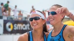 2 nazionali  beach  volley  femminile